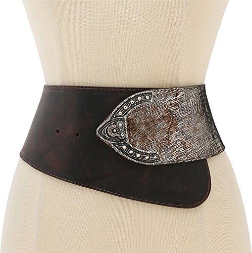 Leatherock Women's 9605 Tejul Bronze Belt XL by Leatherock