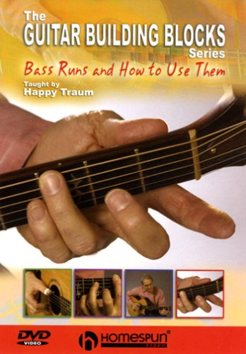 DVD-The Guitar Building Blocks Series-Bass Runs and How to Use Them (Blocks Bass)