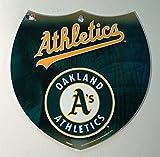 Oakland Athletics MLB 8 Inch Plastic Interstate Shield Sign