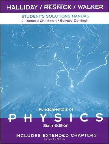 Fundamentals of physics: student companion, 6/e 6th edition: buy.