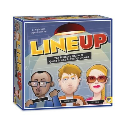 MindWare LineUp – Stimulating Memory Board Game with a Gre