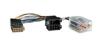 NS0002 W Car Hifi High Low Converter, Power Verstärker Adapter mit ...
