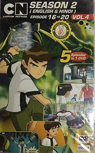 Amazon in: Buy Ben 10 Season 2 Vol 4 DVD, Blu-ray Online at Best