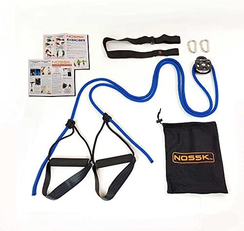 NOSSK Cyclone Pulley Bodyweight Trainer Blue