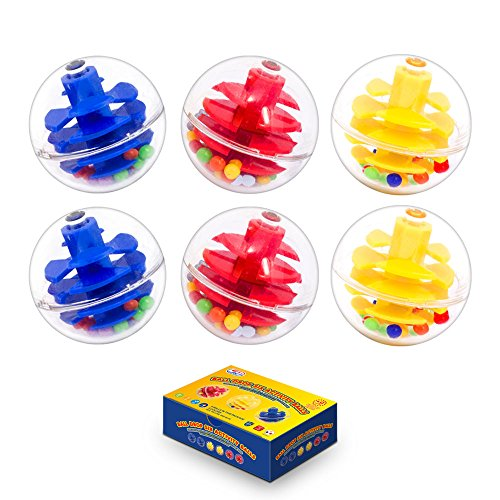 Ball Drop, Ball Ramp Activity Balls for Replacements for More Action. Set of (Ball Race Set)