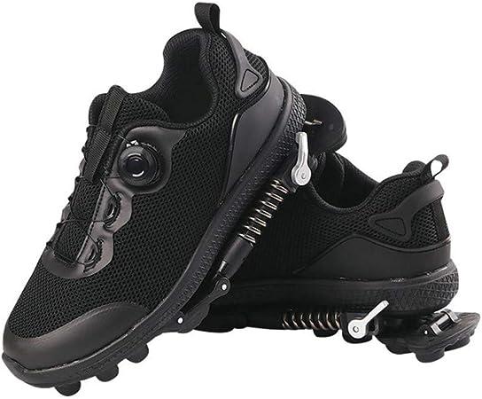 ZGYQGOO calzado antiderrapante para alivio del dolor para fascitis plantar, zapatos mecánicos para correr, deportes al aire libre, zapatos de primavera, 2, 38: Amazon.es: Hogar