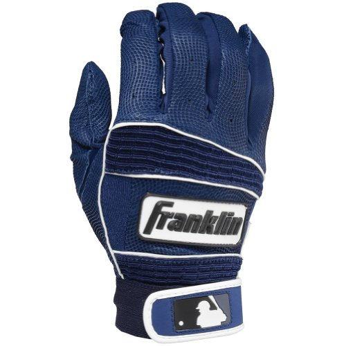 Franklin Sports MLB Neo Classic II Batting Gloves Pair, Navy - Youth Large