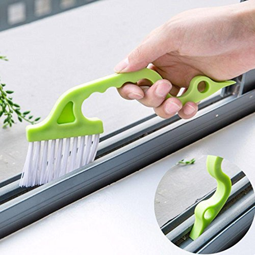 Cleansing Thicket Window Cleaning Brush Home Cleaning Supplies - Multi-Function Window Groove Cleaning Brush Keyboard Nook Cranny Dust Shovel Window Track Cleaning Tools - Light Touch - 1PCs by Unknown (Image #1)