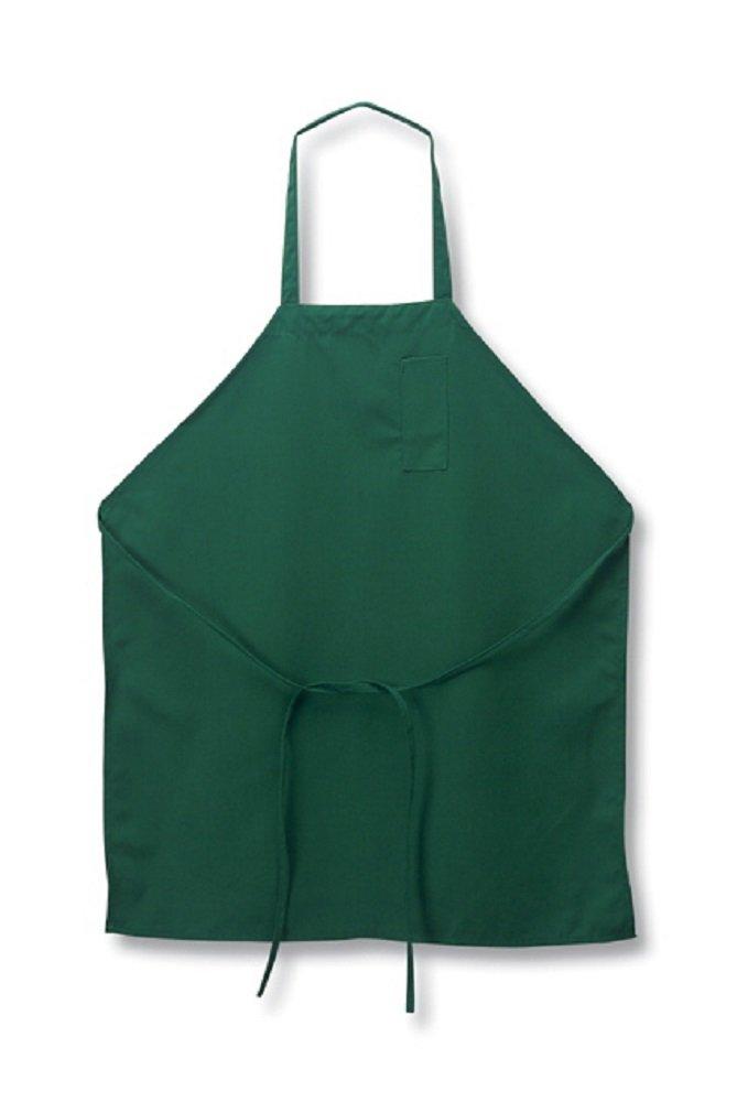 Piece Pack-new Spun Poly-commercial Restaurant Kitchen Best Textiles Bib Aprons-black-12 1dz