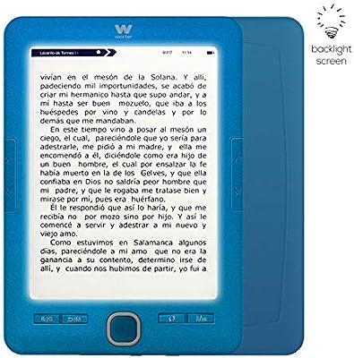 Woxter Scriba 195 Paperlight Blue - Lector de Libros electrónicos ...
