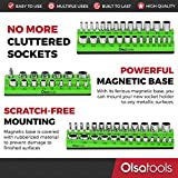 Olsa Tools Magnetic Socket Organizer | 3 Piece