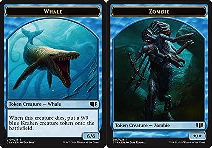 Amazoncom Magic The Gathering Whale Token Zombie Token