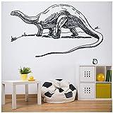 banytree Alamosaurus Wall Sticker Jurassic Dinosaur Wall Decal Kids Bedroom Home Decor Large