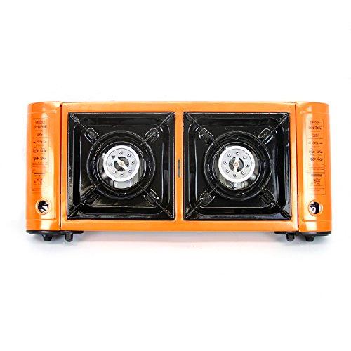 Buy portable butane stove double burner