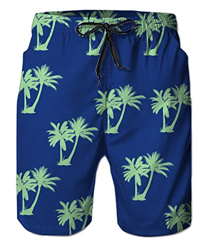 Belovecol Sexy Shorts with Mesh Lining Swim Trunks for Mens Novelty Graphic Plus Size Board Trunks XXL ()