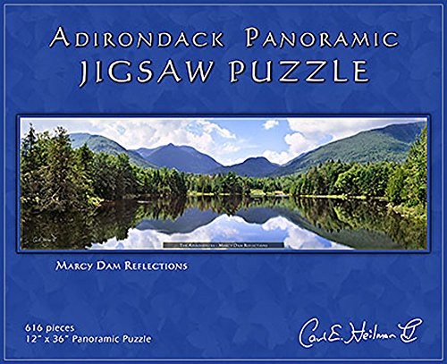 Adirondack Jigsaw Puzzle, Panoramic, Marcy Dam Reflections - MDPZ (Panoramic Vision Inc compare prices)