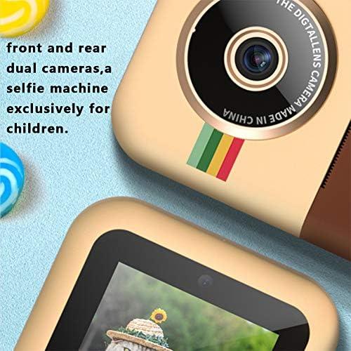 M ugast Kinderkamera, 2,4-Zoll-IPS-HD-Display Kinder-Digitalkamera-Spielzeug mit Druckfoto-Funktion, Camcorder-Rekorder-Geschenk für Jungen/Mädchen