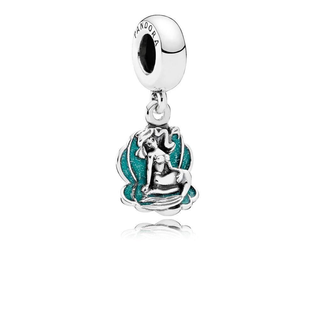 PANDORA Disney Ariel & Sea Shell Dangle 791895EN111