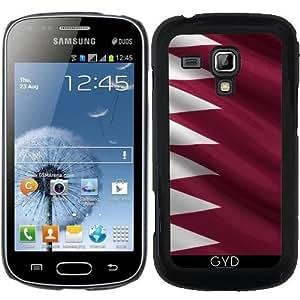 Funda para Samsung Galaxy Trend S7560 - Bandera De Qatar by Carsten Reisinger