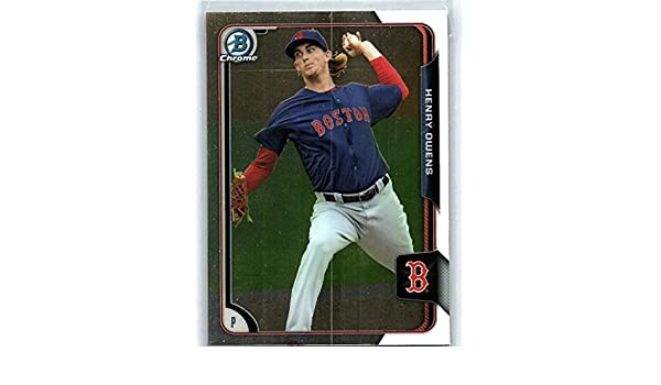 2016 Donruss Baseball Rated Rookies RC #44 Henry Owens Red Sox