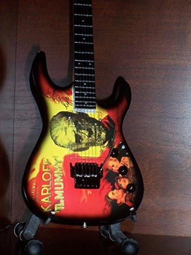 Mini Guitarra METALLICA KIRK HAMMETT MUMMY Figurilla Presente ...