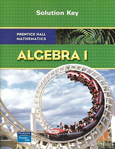 prentice hall classics algebra 1 - 5