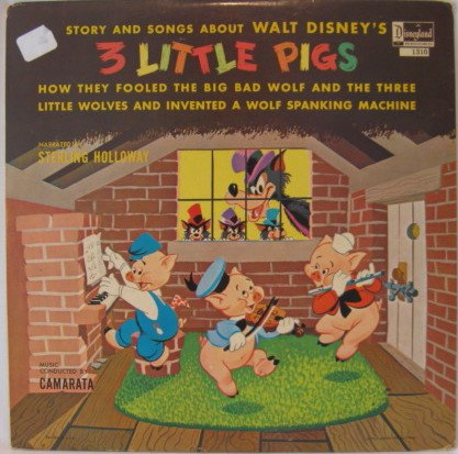 Walt Disneys Three Little Pigs - 7