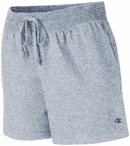 Champion Women's Favorite Short, Oxford Gray, X-Large