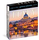 img - for Italy Page-A-Day Gallery Calendar 2019 book / textbook / text book