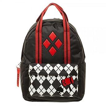 DC Comics Harley Quinn Pocket w Top Handle Backpack