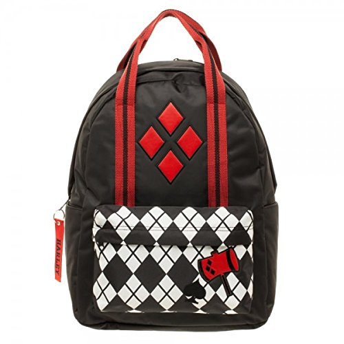 DC Comics Harley Quinn Pocket w/Top Handle Backpack by Bioworld