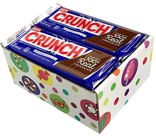 Nestle Crunch Candy Bars (Pack of 16) By Candylab by CandyLab