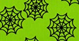 Venus Ribbon V81305-C 1-1/2-Inch Spider Web Grosgrain Ribbon, Apple Green/Black, 5-Yard