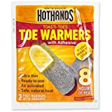 HeatMax Toasti-Toes Toe Warmers with Adhesive - 12 Pair Pack - Made in the USA