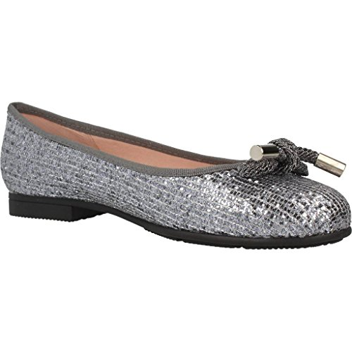 Made with LoVe Womens Ballerina Shoes, Colour Grey, Brand, Model Womens Ballerina Shoes 2002M Grey