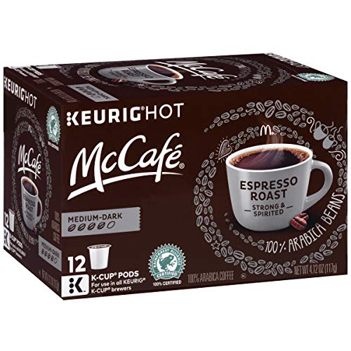 McCafe Espresso Roast Coffee K-Cup Pods, 4.12 oz