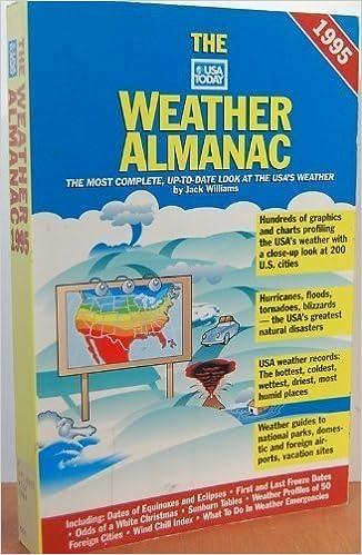 USA Today Weather Almanac: Jack Williams: 9780679755470: Amazon com