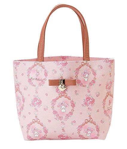 [My Melody] Mini hand lowering bag handbag roses