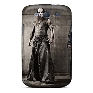 Scratch Resistant Hard Phone Cases For Samsung Galaxy S3 (tif14955GLlu) Provide Private Custom Realistic Mayhem Band Skin