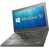 "Lenovo ThinkPad T440 Laptop PC - 14.1"" i5-4300U 12GB 240GB SSD WiFi WebCam USB 3.0 Windows 10 Professional 64-bit (Certified Refurbished)"
