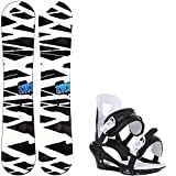 2117 Of Sweden Hintertux Wide 158 Mens Snowboard + Chamonix Savoy Bindings - Fits US Mens Boots Sized: 9,10,11,12,13