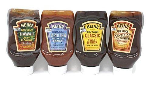 Variety Pack - Heinz BBQ Sauce - Kentucky Bourbon ,Classic S