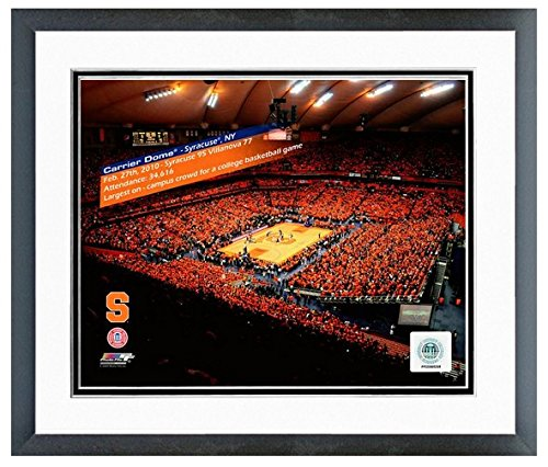 Syracuse Orangemen Carrier Dome Photo (Size: 22.5'' X 26.5'') Framed by NCAA
