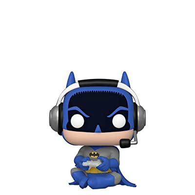 Funko Pop! DC Gamer Batman Sitting Chase Exclusive: Toys & Games