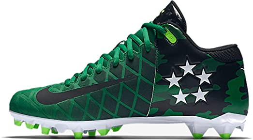 Nike Field General 3 Elite TD Camo Men's Football Cleats 9.5 US