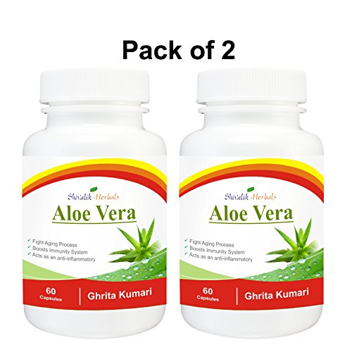 Digest Active 120 Cap (Aloe Vera-Ghritkumari 120 Cap$sules All Type Skin's Care)