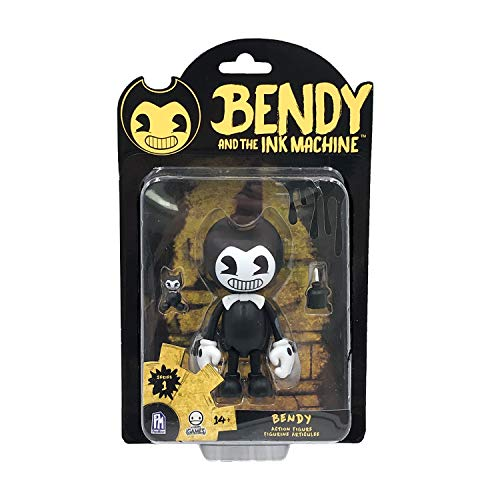Bendy And The Ink Machine- Bendy Figura de accion, Color Negro (Phat Mojo BTIM6601)