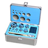 Goetland 304 Stainless Steel Class F1 Calibration Scale Weight Kit Set 1 mg - 1 kg 25 pcs for Balance