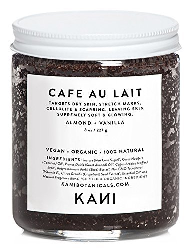 Cafe Au Lait Coffee + Sugar Body Polish, Kani Botanicals