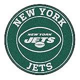 FANMATS 17969 NFL New York Jets Roundel Mat,Team